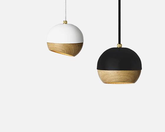 Wooden lamp